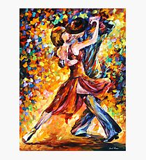 IN THE RHYTHM OF TANGO - Leonid Afremov Photographic Print