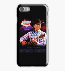 george strait to las vegas live in concert 2017 iPhone Case/Skin