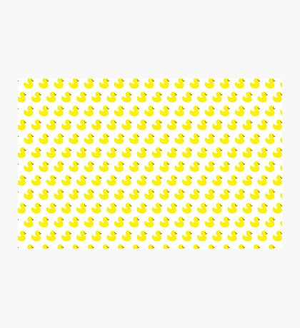 Rubber Duck Pattern Photographic Print