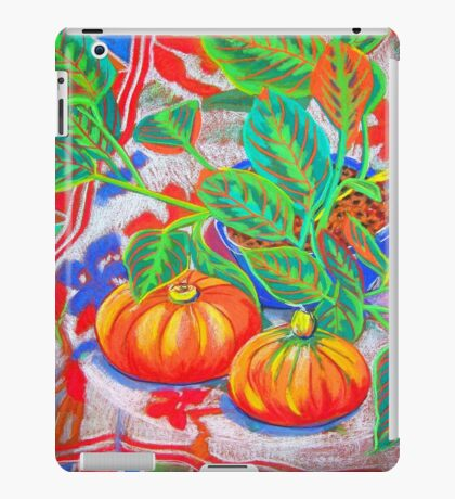 Still Life with Pumpkins iPad Case/Skin