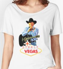 george strait to las vegas 2017 Women's Relaxed Fit T-Shirt