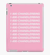 1-800-Chandler-Bing (Pink) iPad Case/Skin