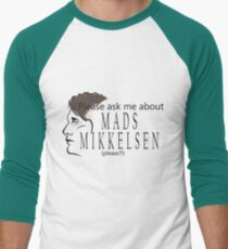 My Favorite Subject Men's Baseball ¾ T-Shirt