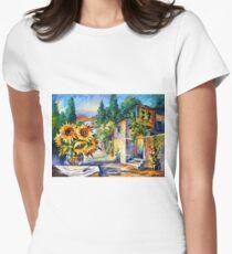 GREEK NOON - Leonid Afremov Women's Fitted T-Shirt