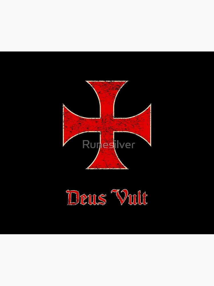 Deus Vult Crusader Templar Cross by Runesilver
