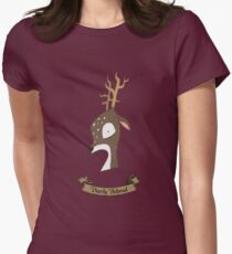 Deerly Beloved Womens Fitted T-Shirt