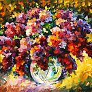 «PRIMAVERA LILA - Leonid Afremov» de Leonid Afremov