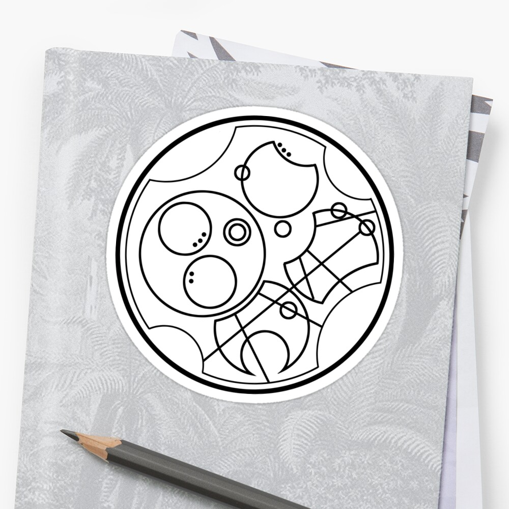 """""""Bow ties are cool"""" - 11th doctor's catchphrase - Circular Gallifreyan by sg1998"""