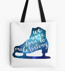 Born to Make History #3 Tote Bag