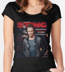 sting 57th & 9th tour 2017 Women's Fitted Scoop T-Shirt
