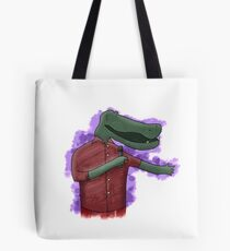 Alligator Comedian Tote Bag