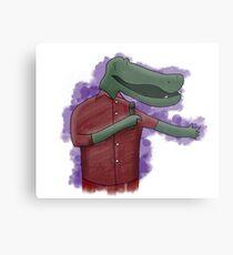 Alligator Comedian Metal Print