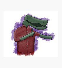Alligator Comedian Photographic Print