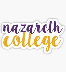 Nazareth College - SCRIPT Sticker