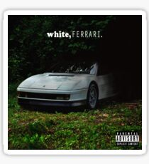 WHITE FERRAI Sticker
