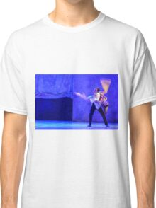 Group of contemporary dancers performing on stage Classic T-Shirt