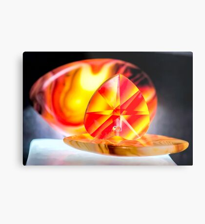Touch Your Heart Metal Print