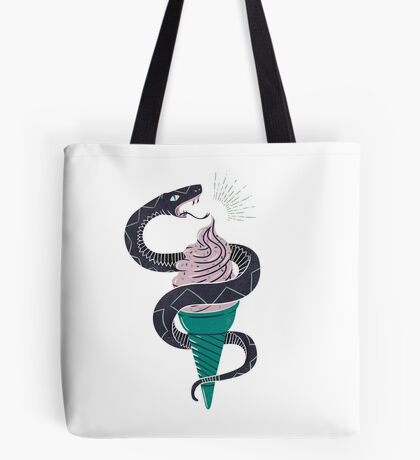 Soft-Serp(ent) Tote Bag