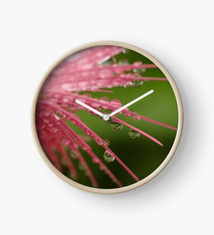 Reflections in Raindrops Clock