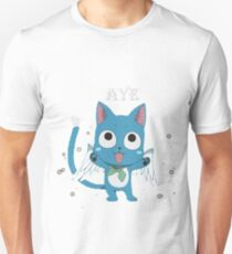 Happy Fairy Tail Cat Unisex T-Shirt