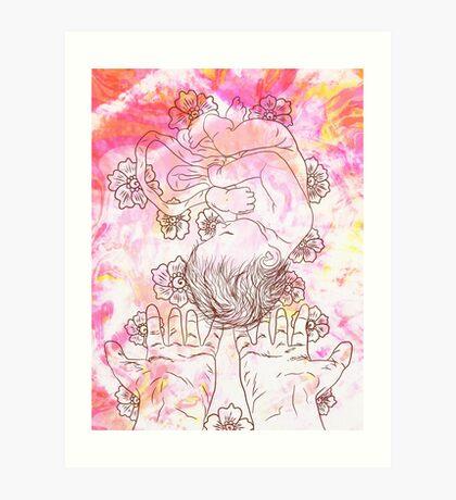 Celebrating Birth Art Print