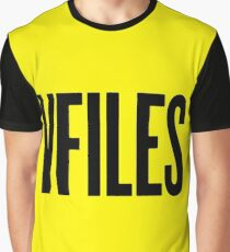 VFILES Logo, Black and Yellow Graphic T-Shirt