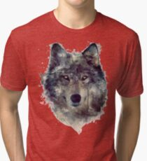 Wolf // Persevere Tri-blend T-Shirt