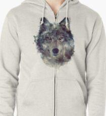 Wolf // Persevere Zipped Hoodie