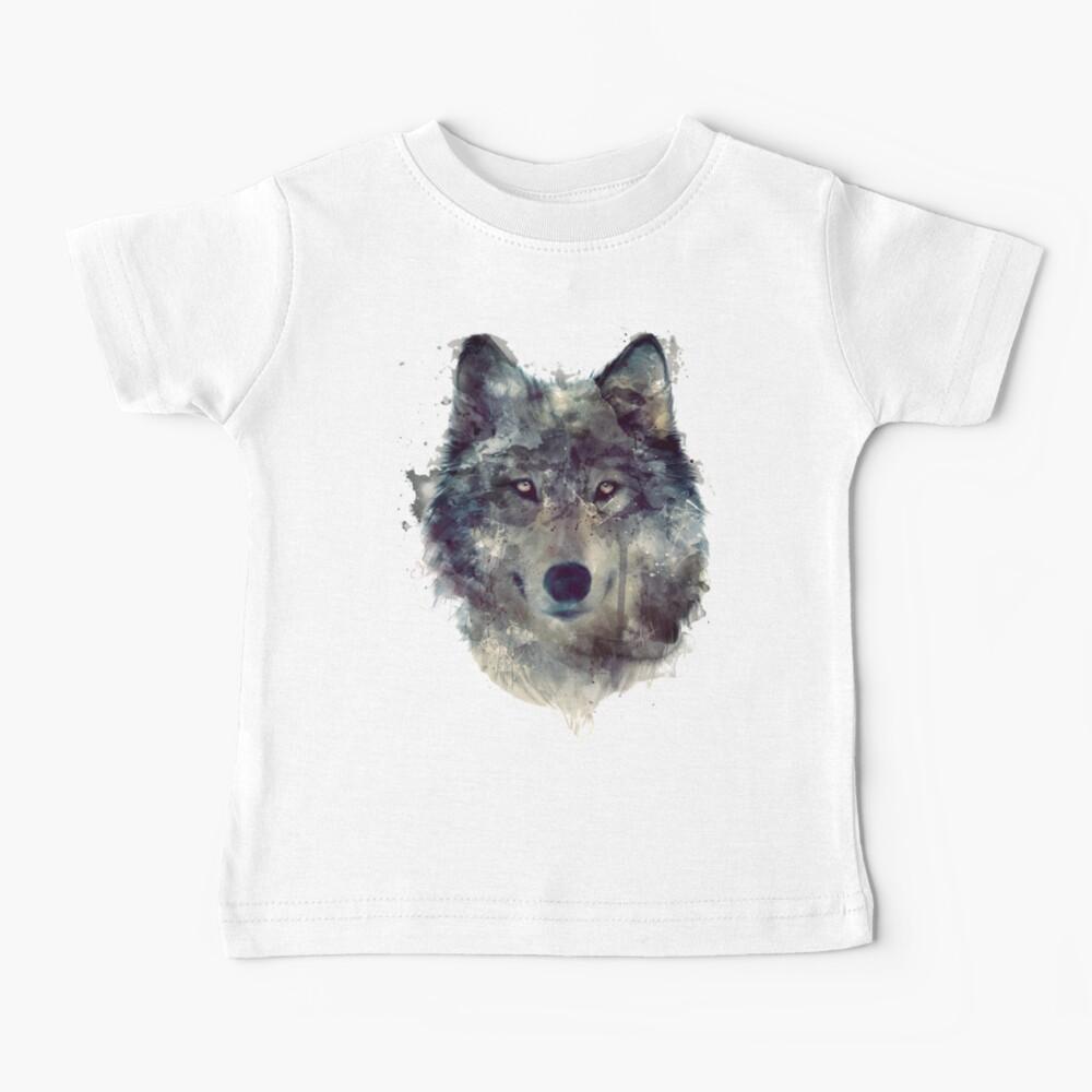 Wolf // Durchhalte dich Baby T-Shirt