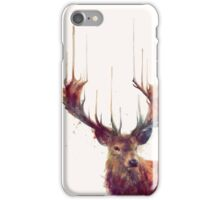 Red Deer iPhone Case/Skin