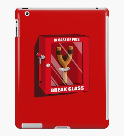 In case of pigs iPad Case/Skin