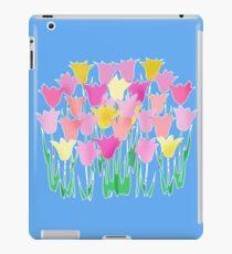Pink and Yellow Tulips iPad Case/Skin
