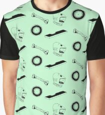 Space Odyssey Iconography (green) Graphic T-Shirt