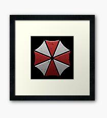umbrella corporation Framed Print