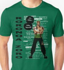 Roronoa Zoro - nothing happened [BW] Unisex T-Shirt