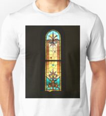 Colorful Stain Glass Window T-Shirt