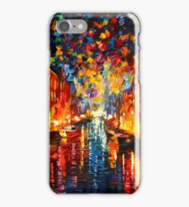 NIGHT COPENHAGEN - Leonid Afremov iPhone Case/Skin