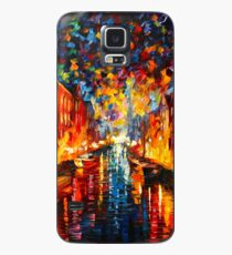 NIGHT COPENHAGEN - Leonid Afremov Case/Skin for Samsung Galaxy