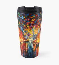 NIGHT COPENHAGEN - Leonid Afremov Travel Mug