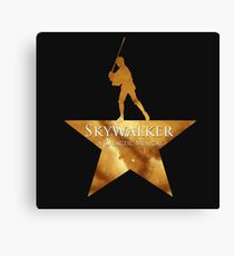 Skywalker, A Galactic Musical  Canvas Print
