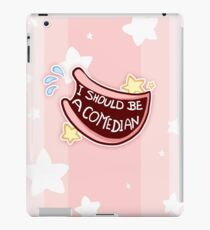 Comedian Badge iPad Case/Skin