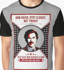 You Stay Classy! San Diego Graphic T-Shirt