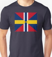 Union Mark Sweden Norway Unisex T-Shirt