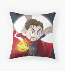 Strange is a gift Throw Pillow