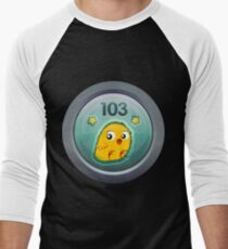 Glitch Achievement capon caterer Men's Baseball ¾ T-Shirt