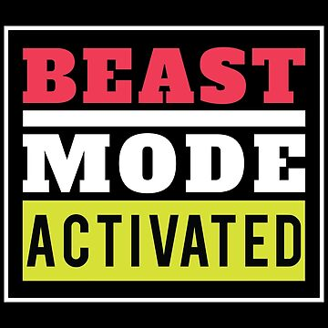 Beast Mode Activated Gym Workout by GreensDream