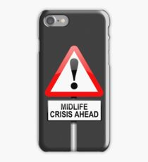 Midlife crisis concept. iPhone Case/Skin