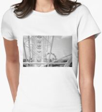 Journey to the Top Womens Fitted T-Shirt