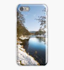 River Wharfe at Appletreewick iPhone Case/Skin
