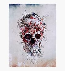Floral Skull RPE Photographic Print